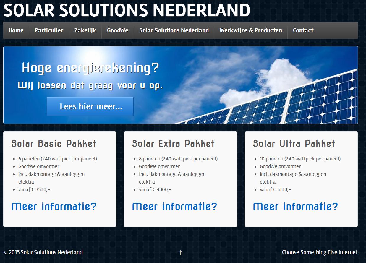 SOLAR SOLUTIONS NEDERLAND